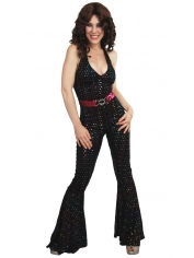 Disco Jumpsuit - Womens Costume